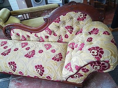 Beautiful Victorian chaise longue