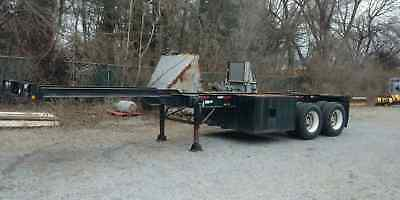 Wabash 30ft. Sea Container Box Trailer Chassis 68,000lb.