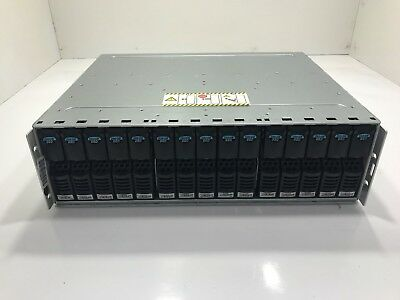 EMC KTN-STL4 4GB Fibre Channel Storage Array w/ 15x 200GB FC SSD HDD