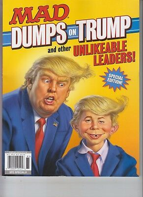 Mad Dumps On Donald Trump And Other Unlikeable Leaders Mad Magazine 2018 Special