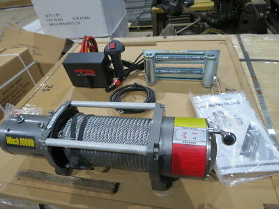 9000 Electric Pound Winch  TJL  Vehicle mount  12 volt NEW truck winch