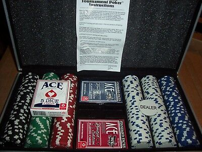 Poker Chip Set 300 Chips