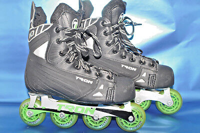 Mens  TRON Roller hockey Inline skates, Size 6   Pre-owned