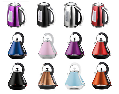 Cordless Electric Swivel Kettle Hot Tea Coffee Water Fast Boil Washable Filter