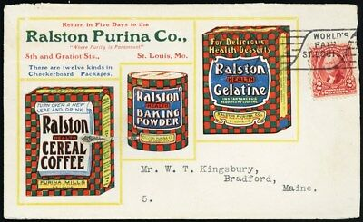 Colorful Ralston Purina Co. St. Louis Advertising Cover - Stuart Katz