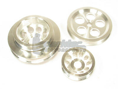 DFJ Performance Underdrive Pulley Kit Acura CL Honda Accord Prelude 2.2L 2.3L