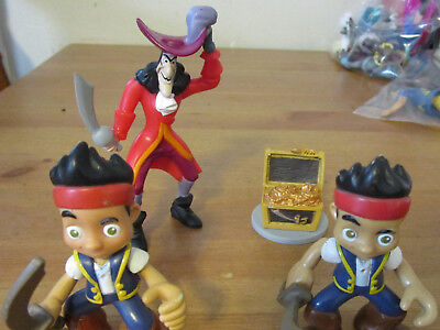 4pc. DISNEY'S JAKE AND THE NEVERLAND PIRATES FIGURES