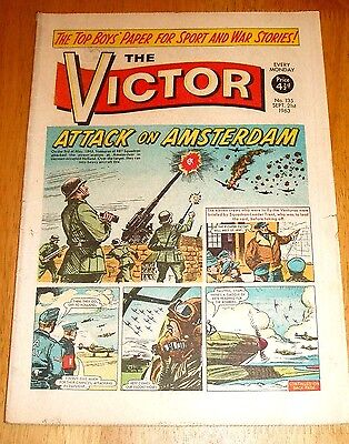 Raf 487 Squadron Venruras In Holland Trent Vc  Ww2 Cover Story Victor 1963  #135