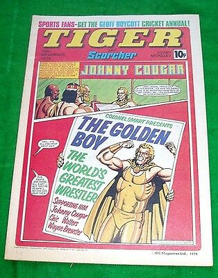 Tiger  Comic 1979   With  Leeds United  Team Poster Centrefold