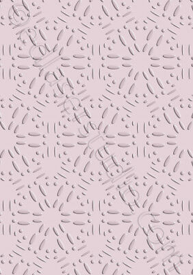 lace border stencil pattern template masks card making crafts