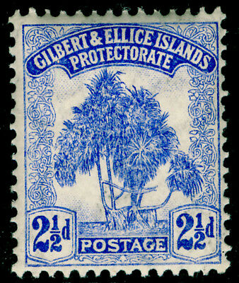 GILBERT AND ELLICE ISLANDS SG11, 2½d blue, NH MINT. Cat £12.