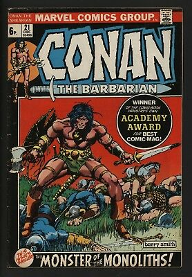 Conan The Barbarian #21 Fantastic Barry Smith Art Great Value Copy