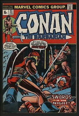 Conan The Barbarian #23  Vs The Vulture Barry Smith Art Fantastic! Great Value