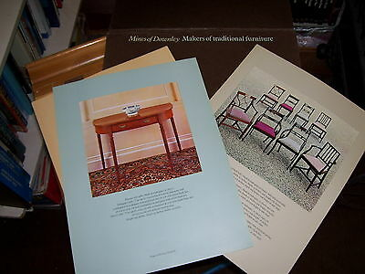 MINES OF DOWNLEY MAKERS OF TRADITIONAL FURNITURE CATALOGUE ?1960's