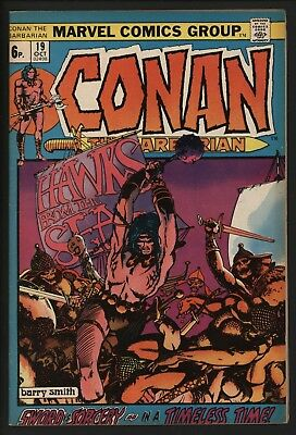 Conan The Barbarian #19 Great Value Mid Grade Fantastic Barry Smith Art