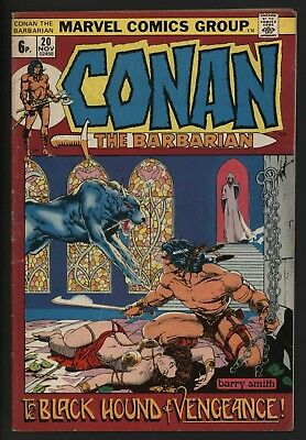Conan The Barbarian #20 Fantastic Barry Smith Art Tight Copy Off White Pages
