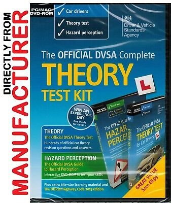 Official DVSA Theory Test Kit for Car Drivers - PC and Mac for 2019 Car Tests kt