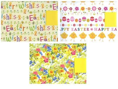 Easter 2 sheets of gift wrap wrapping paper 1 tags 3 designs easter 2 sheets of gift wrap wrapping paper 1 tags 3 designs choices 1stpp negle Image collections
