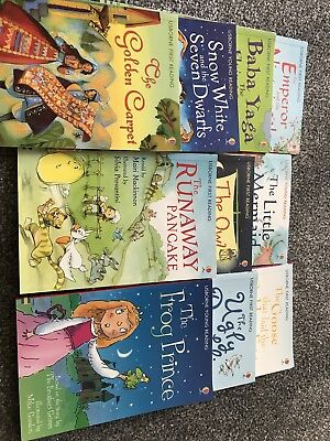 10x Childrens Usborne Reading Books