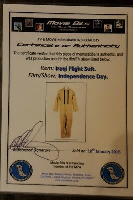 indépendance day prop flyghtsuit