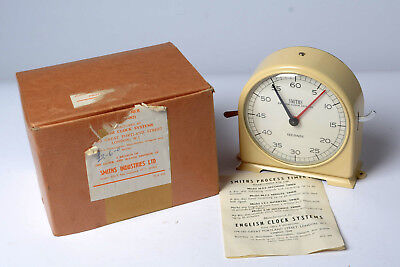 Smiths Darkroom Timer Model N.S.2 Boxed - Instructions - Near Unmarked Condition