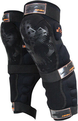 HMK 2016 Adult Snowmobile Protective D30 Knee/Shin Guards Size XL