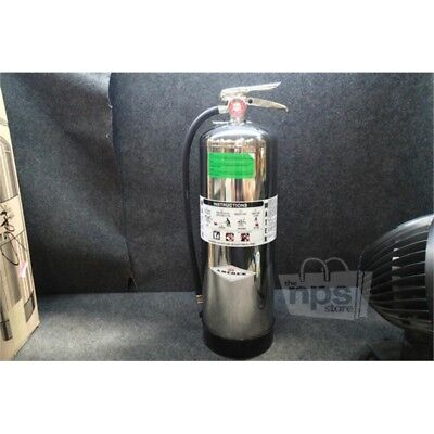 Amerex 240 Water Fire Extinguisher with 2.5gal. Capacity, Stainless Steel