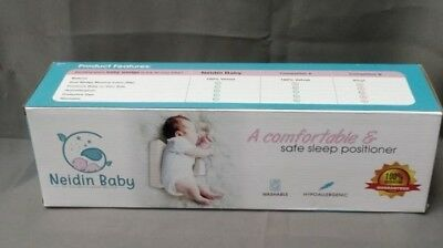 NEIDIN BABY Infant Baby Sleep Pillow Support Wedge Sleeping Positioner Anti-roll