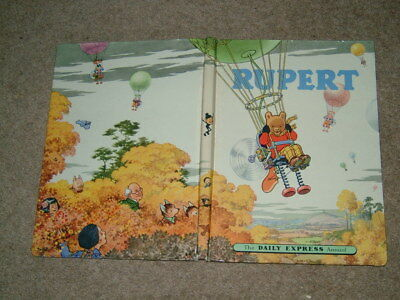 Rupert Annual. 1957 Original. Not Inscribed / Not Price Clipped.