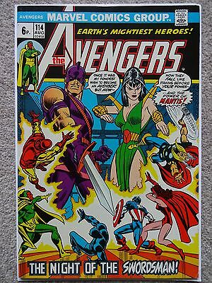 THE AVENGERS Vol.1 No. 114 August 1973