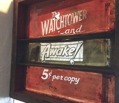 Jehovahs Witnesses -Watchtower Magazine & Awake! 5c-Original Silkscreen Mag Bag