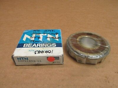 NIB HOOVER NSK S3508 BEARING RUBBER SEALED w// SNAP RING S3508 2RS NR 40x80x30 mm