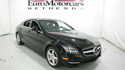 2014 Mercedes-Benz CLS-Class 4dr Sedan CLS 550 4MATIC mercedes benz cls 550 4matic black 14 15 16 used certified  navigation coupe