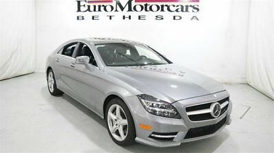 2014 Mercedes-Benz CLS-Class 4dr Sedan CLS 550 4MATIC mercedes benz 14 15 cls 550 4matic navigation silver certified used sedan coupe