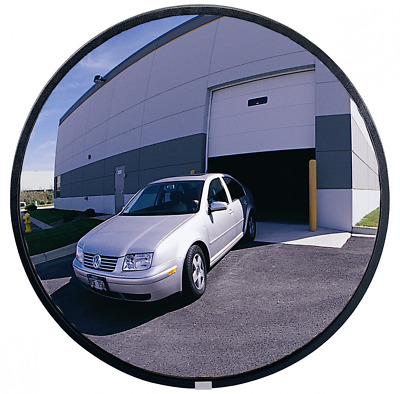 "See All PLXO18 Circular Acrylic Heavy Duty Outdoor Convex Security Mirror, 18"" D"
