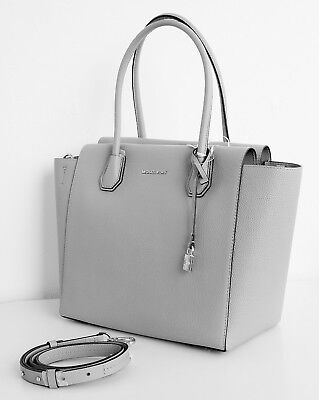 michael kors tasche bag lana md ns tote leder pearl grey. Black Bedroom Furniture Sets. Home Design Ideas