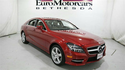 2014 Mercedes-Benz CLS-Class 4dr Sedan CLS 550 4MATIC mercedes benz cls 550 4matic 13 14 15 used navigation red awd