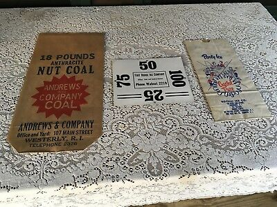 Antique New Old Stock Advertising