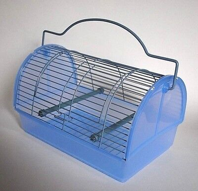 Small Animal Transport Cage with handle and 2 perches EXCELLENT CONDITION!!