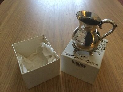 Viners Silver Plated Lady Dorothy's Cream Jug