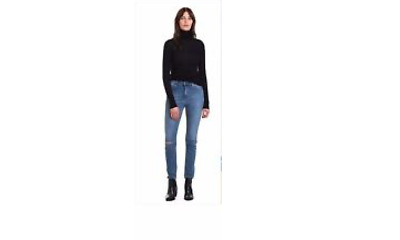 Blue Denim High Rise Jeans Sz 8 From Country Road - New!