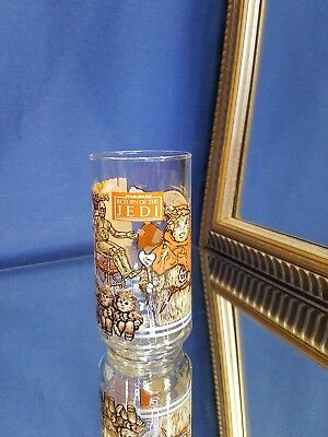 Star Wars 1983 Burger King RETURN OF THE JEDI Glass Ewok Village COCA-COLA R2D2