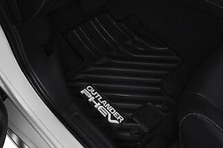 Mitsubishi Outlander PHEV ALL WEATHER RUBBER Floor Mats MZ314940 GENUINE OEM NEW