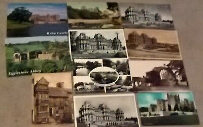 Job Lot-11 Postcards of Bowes Musuem/Barnard Castle/Egglestone Abbey - Durham