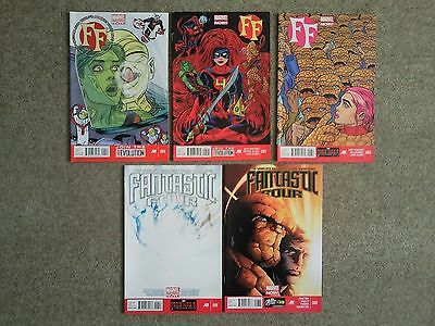 FF 4, 5, 6 and Fantastic Four 6 and 8 (Matt Fraction set)