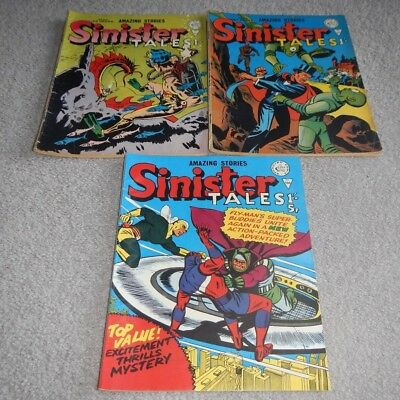 SINISTER TALES ALAN CASS APPROVED COMICS 1960s LOT No 67~72~100