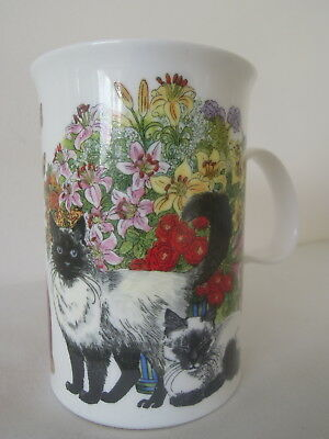 Dunoon Sophistcats Pattern Mug by Sue Scullard made in England