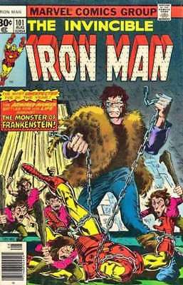 Iron Man (1968 series) #101 in Very Fine - condition. FREE bag/board
