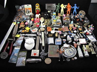 Lot of 100+ Vintage 7 lbs UNTESTED JUNK DRAWER LOT