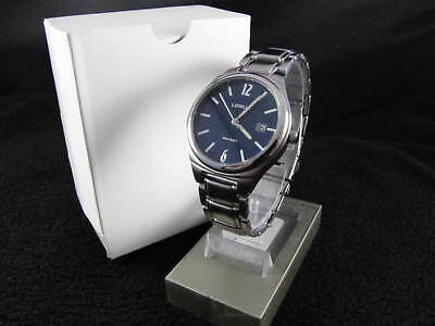 New Old Stock (NOS) Vintage LORUS By SEIKO Blue Face & Date NEW BATTERY Watch
